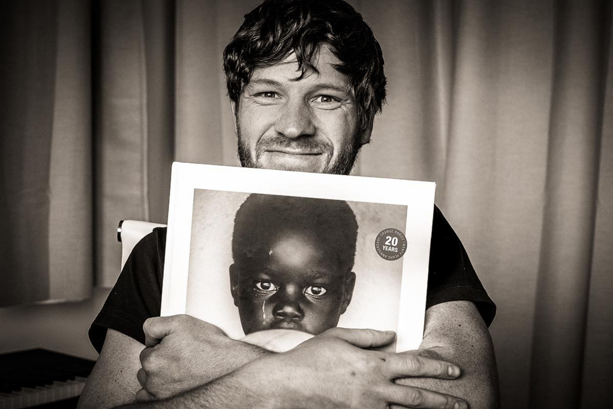 Adrian Kuipers - I Am Orange Babies Book - Holding Prototype LR